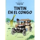 Tintin album: Tintin au Congo Edition fac-similé colours 1946