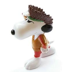 Figurine Schleich® Peanuts, Snoopy indigène (SC22241)