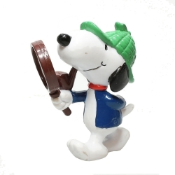 Figurine Schleich® Peanuts, Snoopy détective (SC22224)