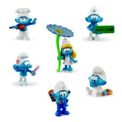 Schleich® The Smurfs collectible figurines set (2021)