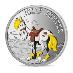 Médaille de collection Lucky Luke, Jolly Jumper 34mm (2021)