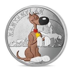 Medalla de colección Lucky Luke, Rantanplan 34mm (2021)