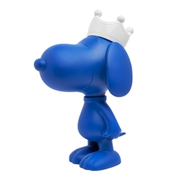 Figurine Leblon-Delienne Peanuts, Snoopy matte blue with white crown (2020)
