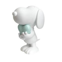 Figurine Leblon-Delienne Peanuts, Snoopy white and pastel green heart (2020)