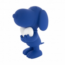 Figurine Leblon-Delienne Peanuts, Snoopy blue and lacquered white heart (2021)