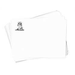 Set of 20 envelopes Corto Maltese, Portrait (17,5x13cm)