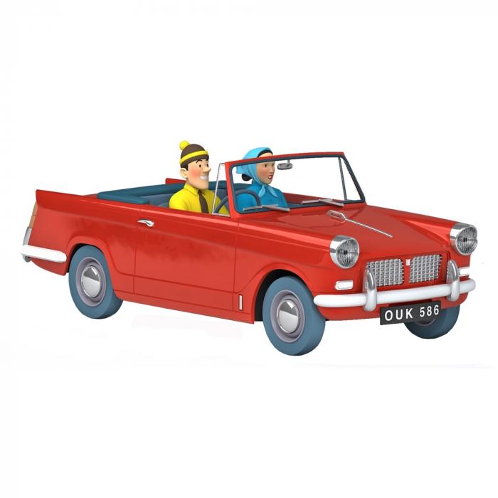 Collectible car Tintin, the Triumph Herald 1200 Black Island Nº52 1/24 (2021)