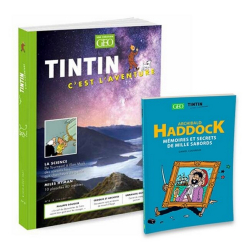 Revue GEO Tintin Aventurier de la Science + Archibald Haddock Nº8 (2021)