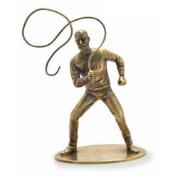 Figurine de collection en bronze Pixi Blake et Mortimer, Olrik au fouet 5239 (2021)