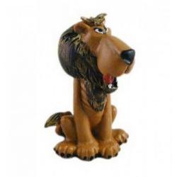Figurine de collection Plastoy Astérix et Obélix, le lion du cirque 69020 (2005)