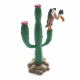 Collectible figure Plastoy Lucky Luke, the cactus with vulture 69021 (2013)