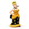 Collectible figure Plastoy Lucky Luke, Lulu Carabine 69022 (2009)