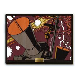 Cuadro de colección Akimoff Blake y Mortimer, S.O.S. Meteoros (2021)