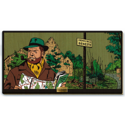 Collectible scene Akimoff Blake and Mortimer, Mortimer looking for... (2021)