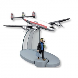 Figurine de collection Tintin L'avion Air India Tintin au Tibet Nº27 29547 (2016)
