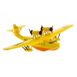 Figurine de collection Tintin L'hydravion jaune Sceptre d'Ottokar 29545 (2016)