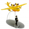 Tintin Figure collection Yellow seaplane King Ottokar's Sceptre Nº25 29545 2016