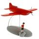 Figurine de collection Tintin L'avion Stratonef  Jo, Zette et Jocko 29546 (2016)