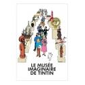 Poster Moulinsart Le Musée imaginaire de Tintin 23004 (40x60cm)
