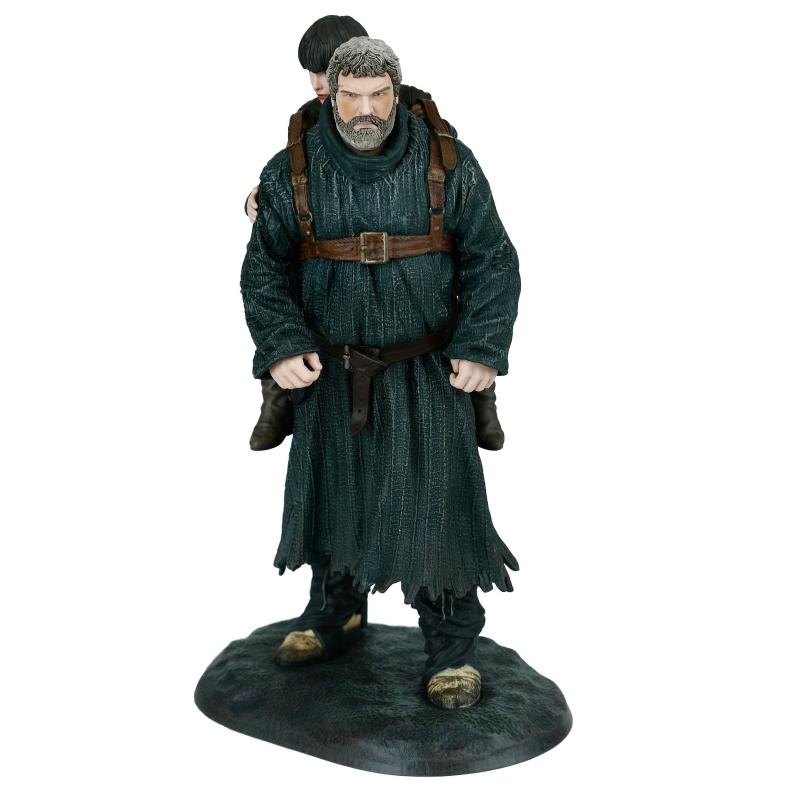Figura de colección Dark Horse Game of Thrones  Hodor llevando a Bran