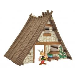 Coffret Plastoy de la maison du village d'Astérix avec figurine Astérix (2015)