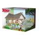 Cofre Plastoy de la casa del pueblo de Asterix y 1x figura Obelix (2015)