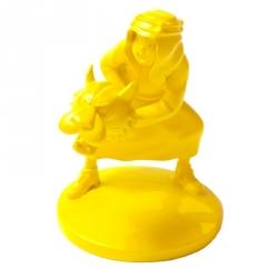 Figurine de collection Tintin Abdallah Moulinsart Jaune Monochrome (42166)