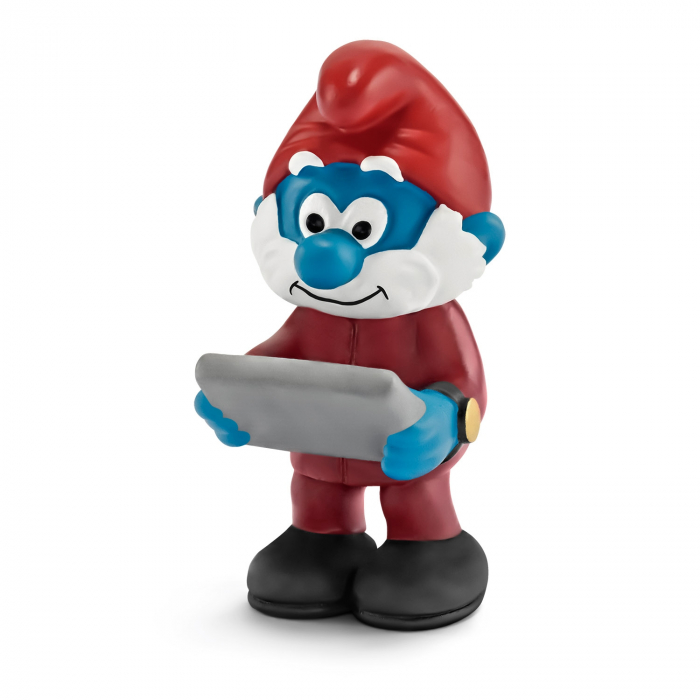 The Smurfs Schleich® Figure - The Boss Smurf (20769)