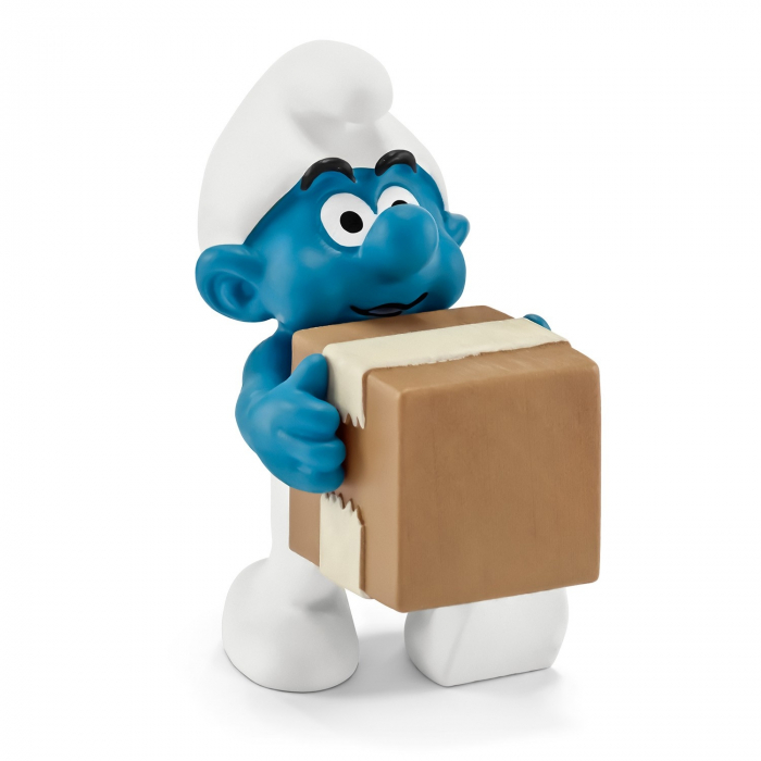 The Smurfs Schleich® Figure - The Logistic Smurf (20771)
