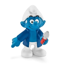 The Smurfs Schleich® Figure - The Caretaker Smurf (20768)