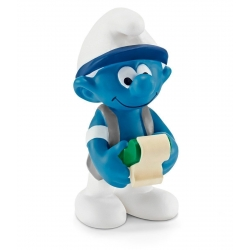 The Smurfs Schleich® Figure - The Accountant Smurf (20772)