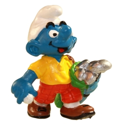 Figurine Schleich® Les Schtroumpfs - Le Schtroumpf joueur de golf  1998 (21015)