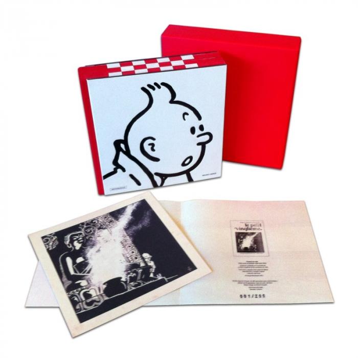 Tintín Libro Museo Hergé Edición Coleccionista + Litografía (4289-2)
