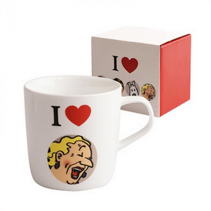 Taza mug de porcelana Tintín I Love Bianca Castafiore (47941)