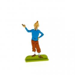 Collectible metal figure Tintin presents... 29228 (2012)