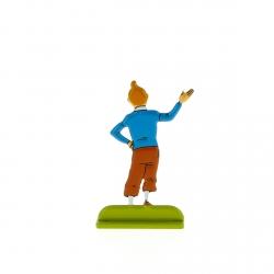 Figurine en métal de collection Tintin se présentant 29228 (2012)