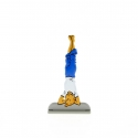 Collectible metal figure Tintin doing yoga 29220 (2011)