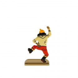 Collectible metal figure Tintin does a jig 29221 (2011)