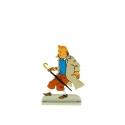 Collectible metal figure Tintin drops umbrella 29216 (2011)