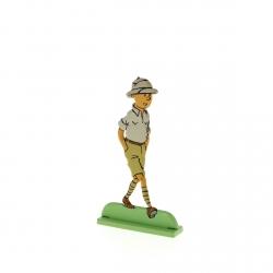 Figurine en métal de collection Tintin au Congo 29215 (2012)