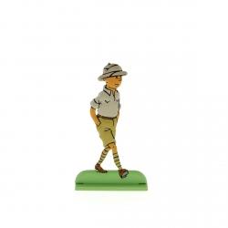 Figura metálica de colección Tintín en el Congo 29215 (2012)