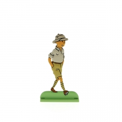 Figurine en métal de collection Tintin au Congo 29215 (2012)