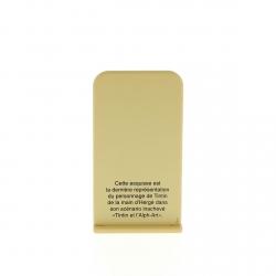 Figura metálica de colección Tintín y el Arte-Alfa 29223 (2012)