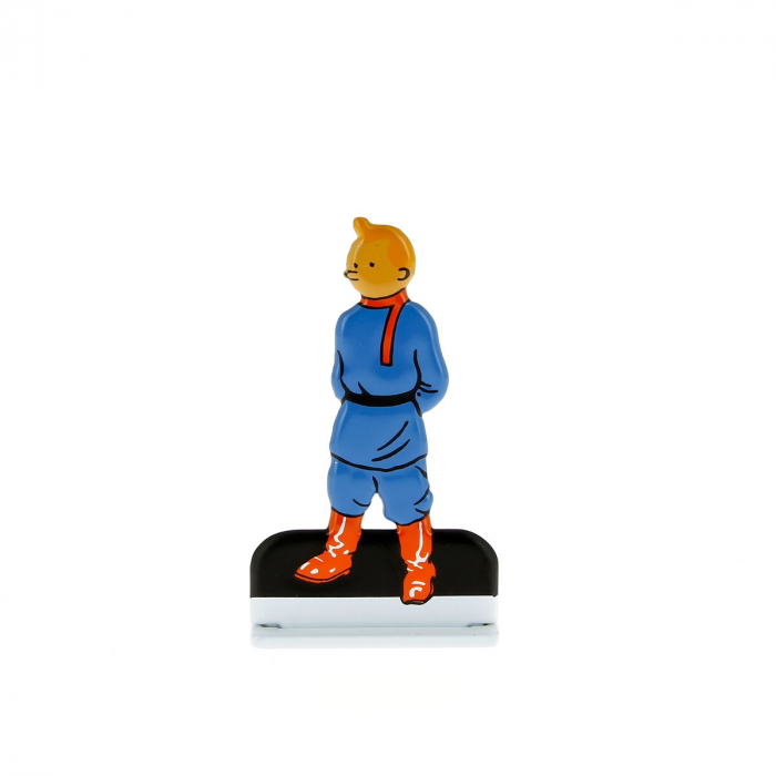 Figurine en métal de collection Tintin au pays des soviets 29222 (2012)