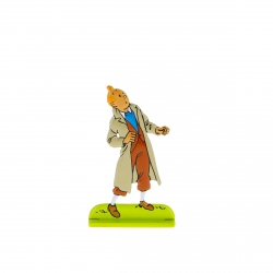 Collectible figurine Tintin Didi Jen-Ghié is crazy Moulinsart 42218 2018