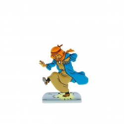 Collectible metal figure Tintin steps on a banger 29209 (2010)