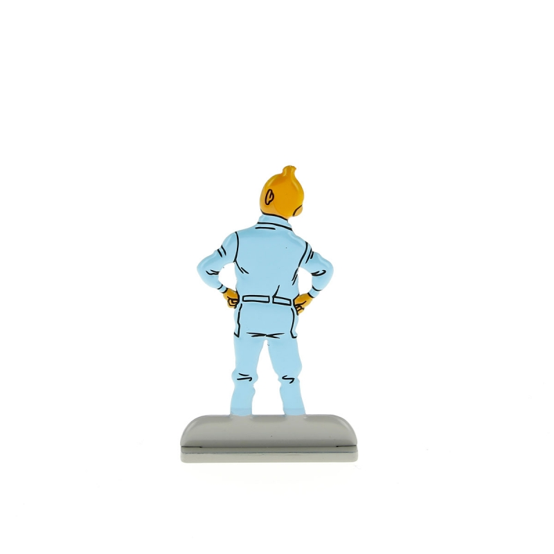 2010 Collectible metal figure Tintin in boiler suit 29207