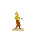 Figurine en métal de collection Tintin se retournant 29204 (2012)