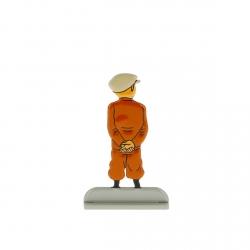 Figurine en métal de collection Tintin en train d'attendre 29202 (2012)