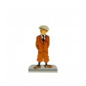 Collectible metal figure Tintin waiting 29202 (2012)